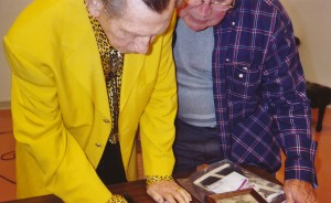 donald o'connor signing my pic